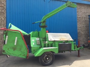Used Wood Chippers Greenmech Cm170 Wood Chipper Offered